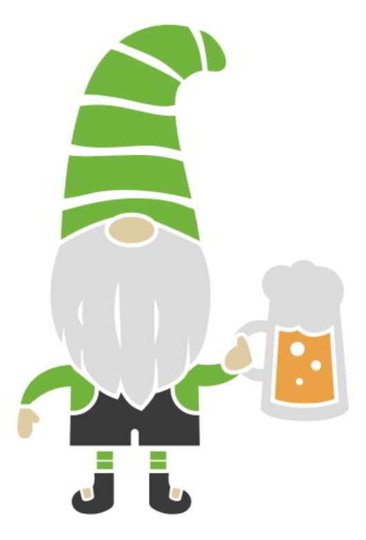 St Patrick's Gnomes SVG