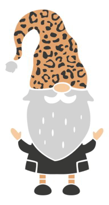 Leopard Gnomes SVG